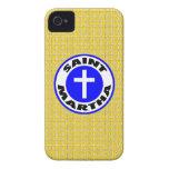 Santo Martha iPhone 4 Case-Mate Carcasa