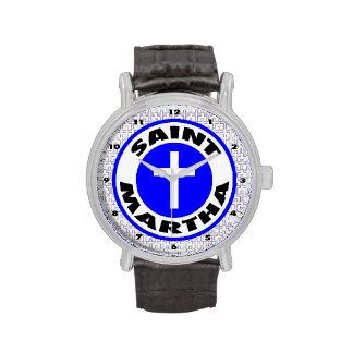 Santo Martha Reloj De Mano