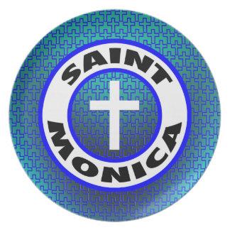 Santo Mónica Plato