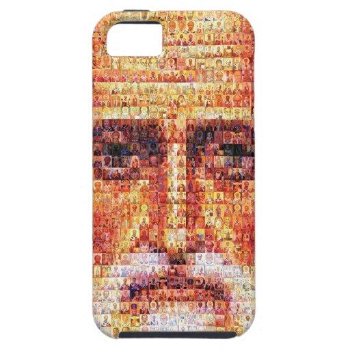 Santo Nicholas con los santos iPhone 5 Case-Mate Coberturas