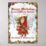 Santo Nicholas del navidad 4 Poster