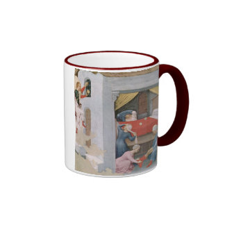 Santo Nicholas del navidad del vintage Taza De Café