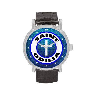 Santo Odilia Relojes De Pulsera