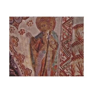 Santo Olaf de Noruega Lienzo Envuelto Para Galerías