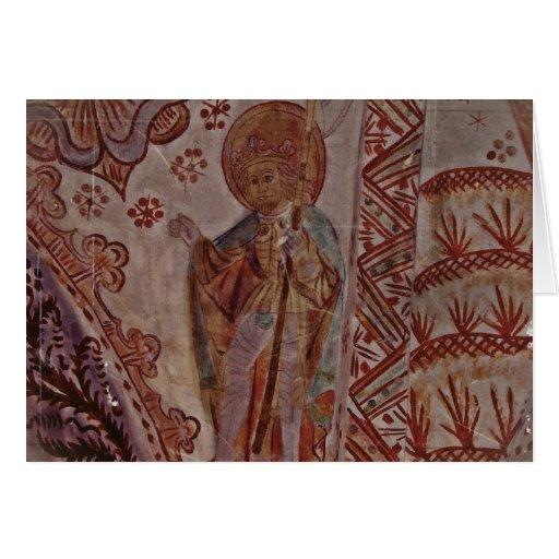 Santo Olaf de Noruega Tarjeton