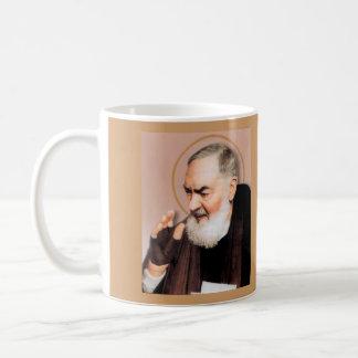 Santo Padre Pio*, místico católico Taza De Café