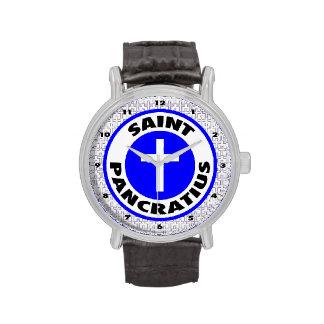 Santo Pancratius Reloj De Mano
