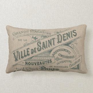 Santo parisiense del chalet de la publicidad del v almohada