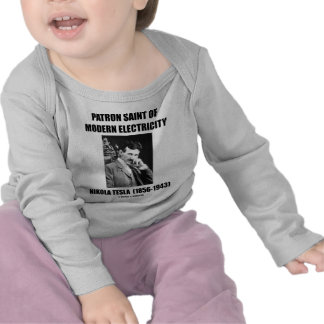 Santo patrón de la electricidad moderna (Nikola Te Camiseta
