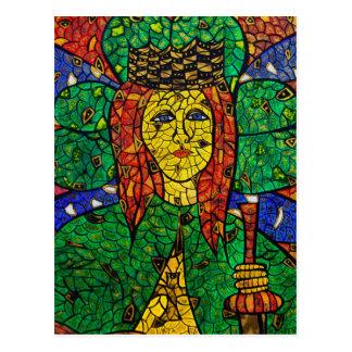 Santo patrón de St Dymphna de la depresión y de la
