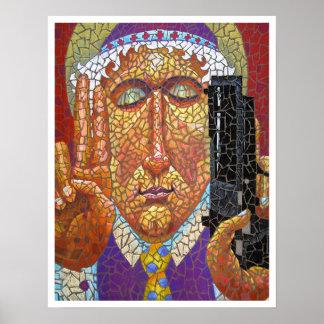 Santo patrón del control de armas póster