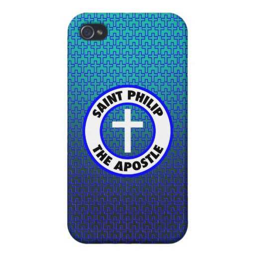 Santo Philip el apóstol iPhone 4/4S Fundas
