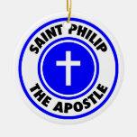 Santo Philip el apóstol Ornamento Para Reyes Magos