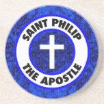 Santo Philip el apóstol Posavaso Para Bebida