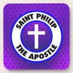 Santo Philip el apóstol Posavasos