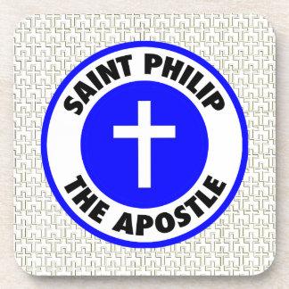Santo Philip el apóstol Posavasos De Bebida