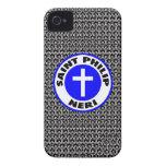 Santo Philip Neri Case-Mate iPhone 4 Protectores