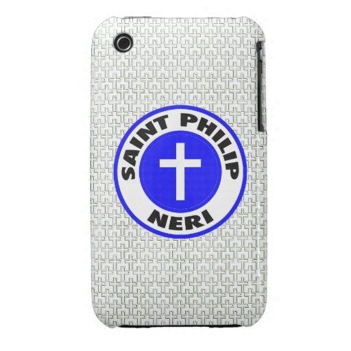 Santo Philip Neri iPhone 3 Case-Mate Carcasa