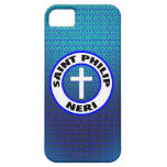 Santo Philip Neri iPhone 5 Case-Mate Protectores