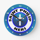 Santo Philip Neri Reloj De Pared