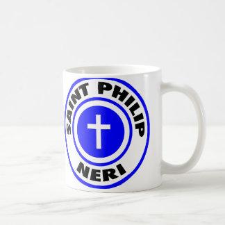 Santo Philip Neri Taza De Café