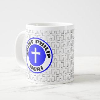Santo Philip Neri Taza De Café Gigante