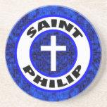 Santo Philip Posavasos Personalizados