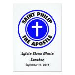 Santo Philip que el apóstol invita Invitación Personalizada