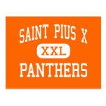 Santo Pío X - panteras - alto - Houston Tejas Postal