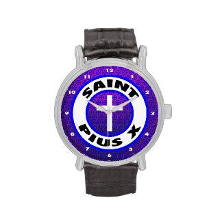 Santo Pío X Reloj