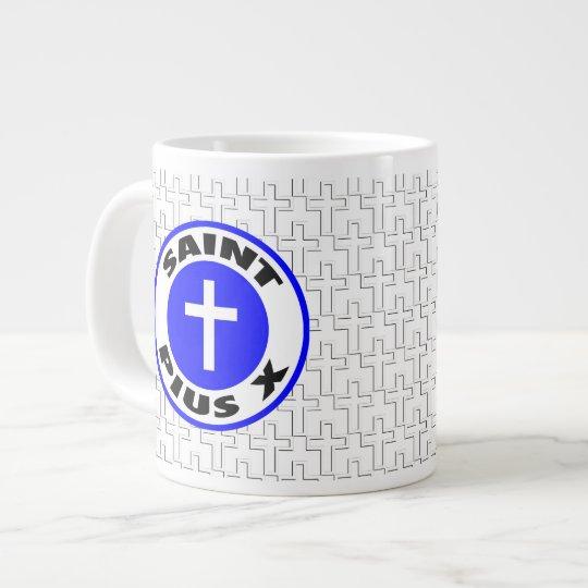 Santo Pío X Taza De Café Grande