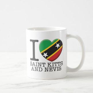 Santo San Cristobal y Nevis Tazas De Café