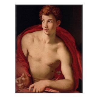 Santo Sebastian-Agnolo Bronzino Postales