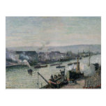 Santo-Separe el puerto, Ruán, 1896 Tarjeta Postal