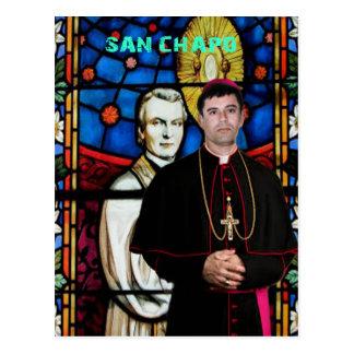 SANTO  SINALOA SAN CHAPO ORIGINALS PRODUCTS POSTCARD
