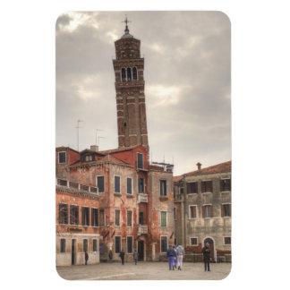 Santo Stefano, Venecia Italia Imán Rectangular