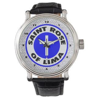 Santo subió de Lima Reloj
