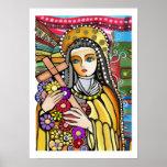 Santo Teresa de Jesús Póster