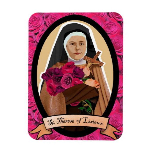 Santo Teresa del imán del refrigerador del icono d
