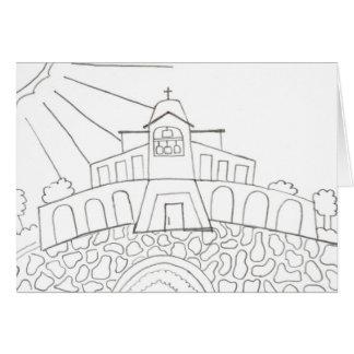 Santo Thérèse de Carmel • Eric, edad 12 Tarjeta Pequeña