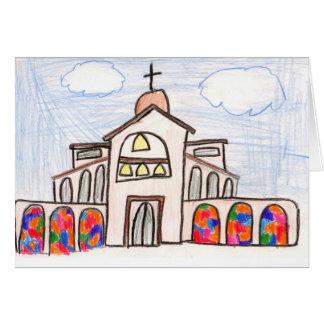 Santo Thérèse de Carmel • Evan, edad 10 Tarjeta Pequeña
