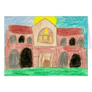 Santo Thérèse de Carmel • Nicole, edad 11 Tarjeta Pequeña