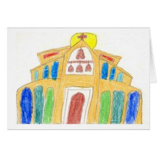 Santo Thérèse de Carmel • Rafael, edad 10 Tarjeta Pequeña
