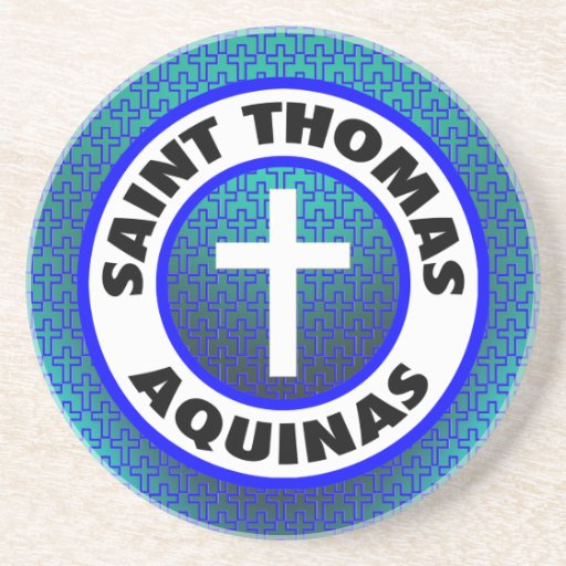 Santo Tomás de Aquino Posavasos Manualidades