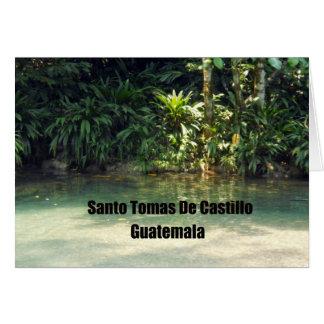 Santo Tomas De Castillo, Guatemala Card