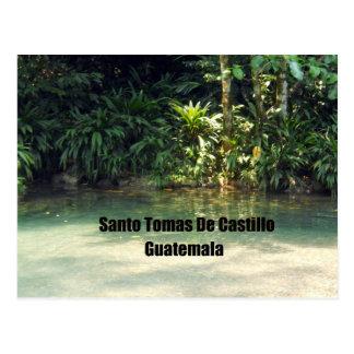 Santo Tomas De Castillo, Guatemala Postcard