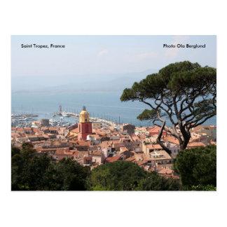 Santo Tropez, Francia, Ola de la foto… Postal