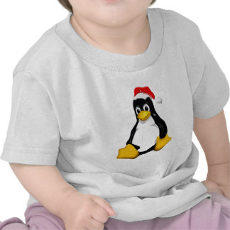 Santo Tux Camisetas