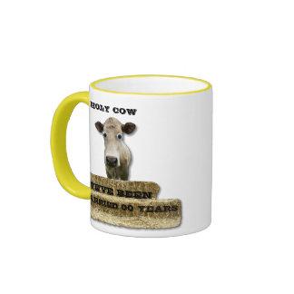 SANTO Vaca-usted añade la Año-taza Taza A Dos Colores