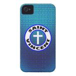 Santo Vincent Case-Mate iPhone 4 Carcasa